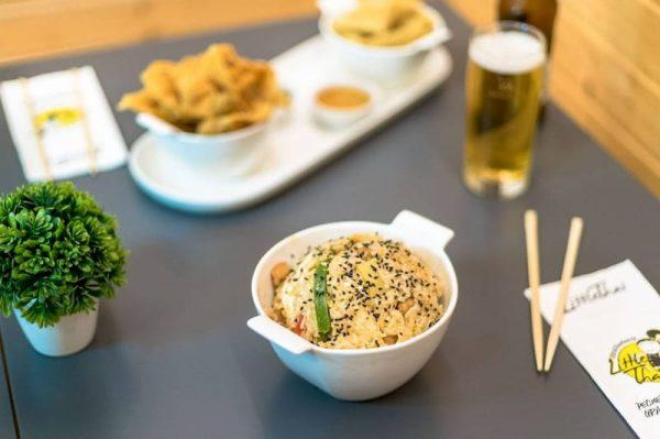 menu individual little thai