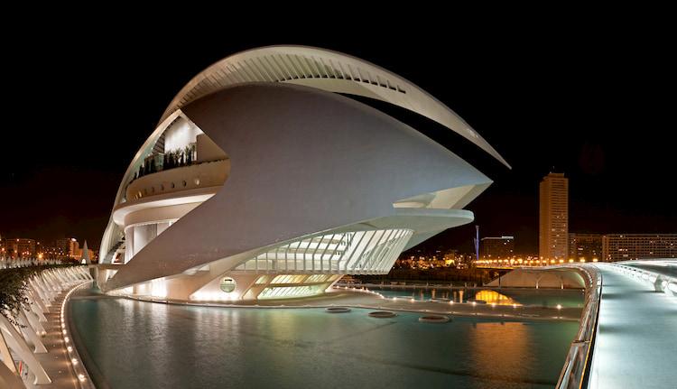 Palacio Reina Sofía en CAC - Ciudad de las Artes y las Ciencias
