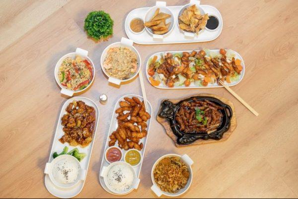 platos carta menu grupo little thai
