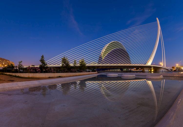 Puente Assut d'Or - Ciudad de las Artes y de las Ciencias CAC Avenida de Francia