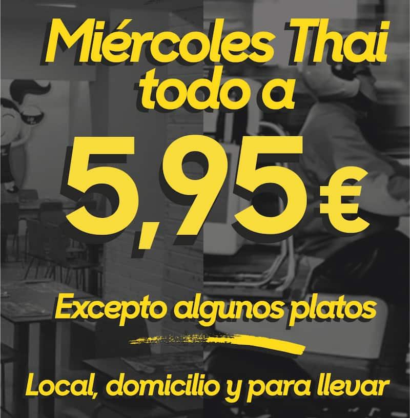 miercoles 5,95 little thai