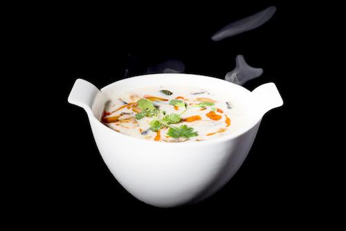 comida típica de tailandia sopa de coco tailandia little thai